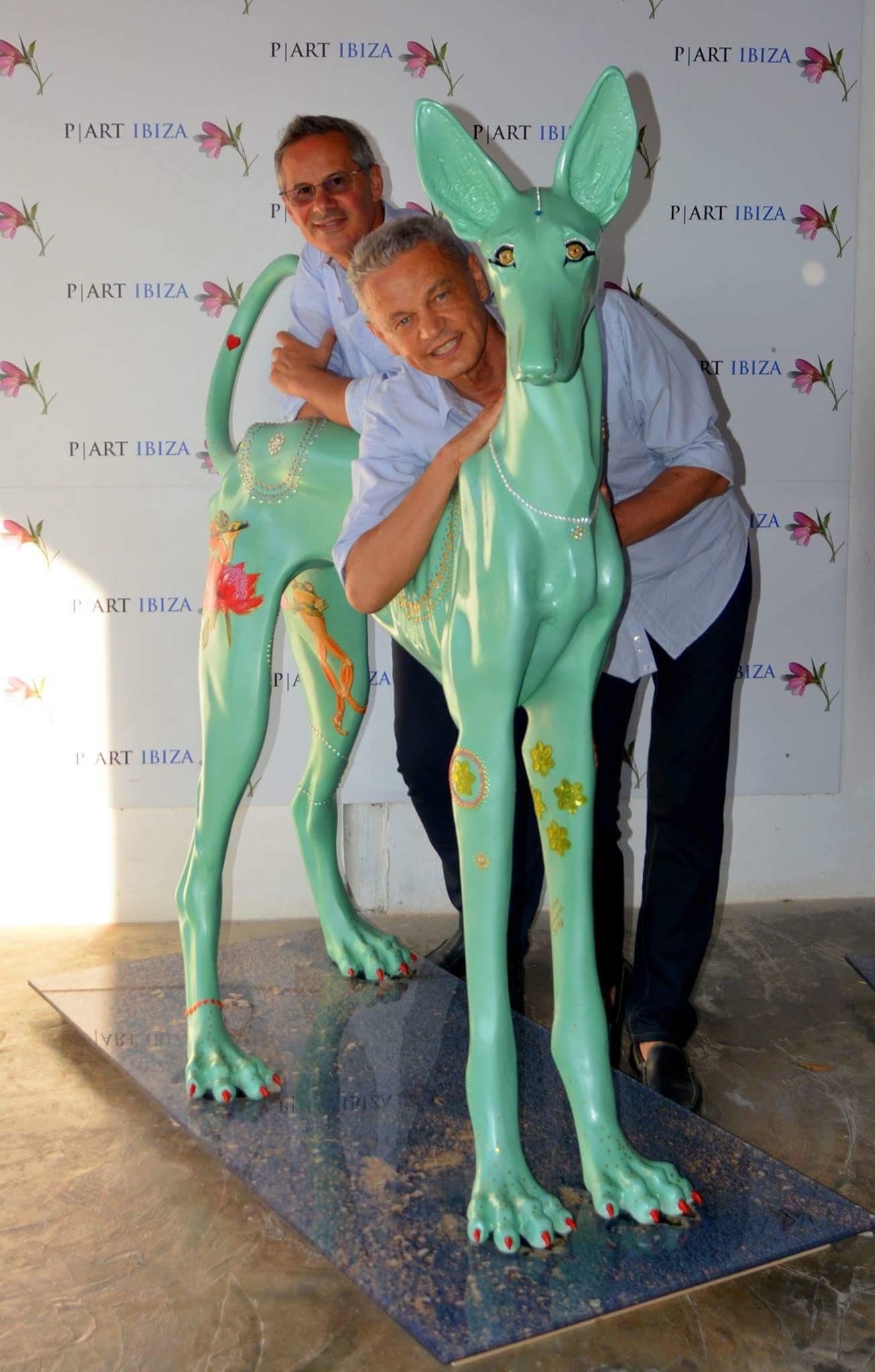 Maurizio Boscheri e Mario Liberali Podenco P Art Ibiza